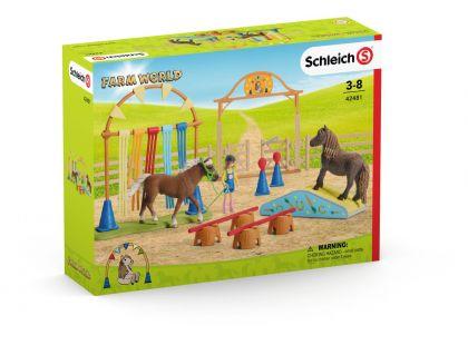 Schleich 42481 Trénink v agility pro poníky