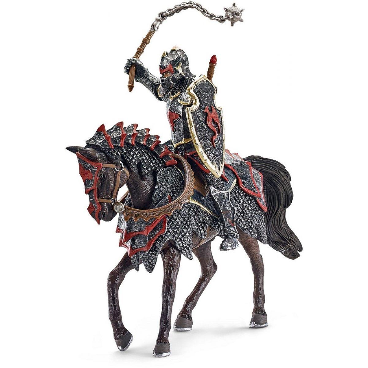 Schleich 70101 Rytíř na dračím koni s cepem