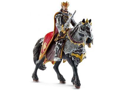Schleich 70115 Dračí rytíř král na koni