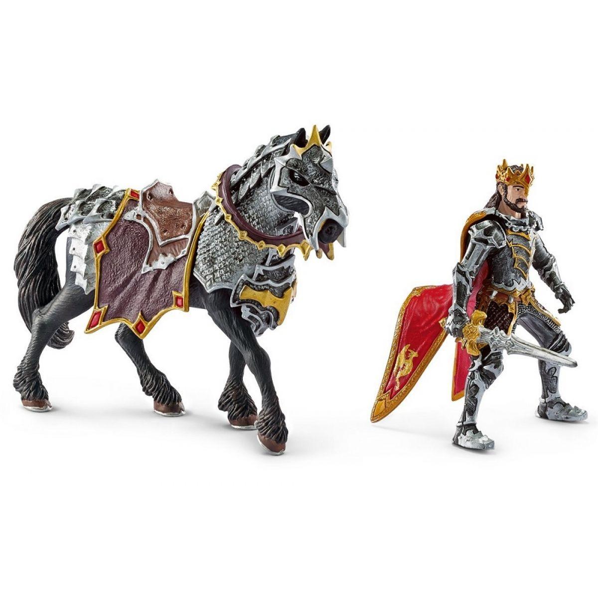 Schleich 70115 Dračí rytíř král na koni #2