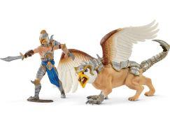 Schleich 70129 Bojovník s Griffinem