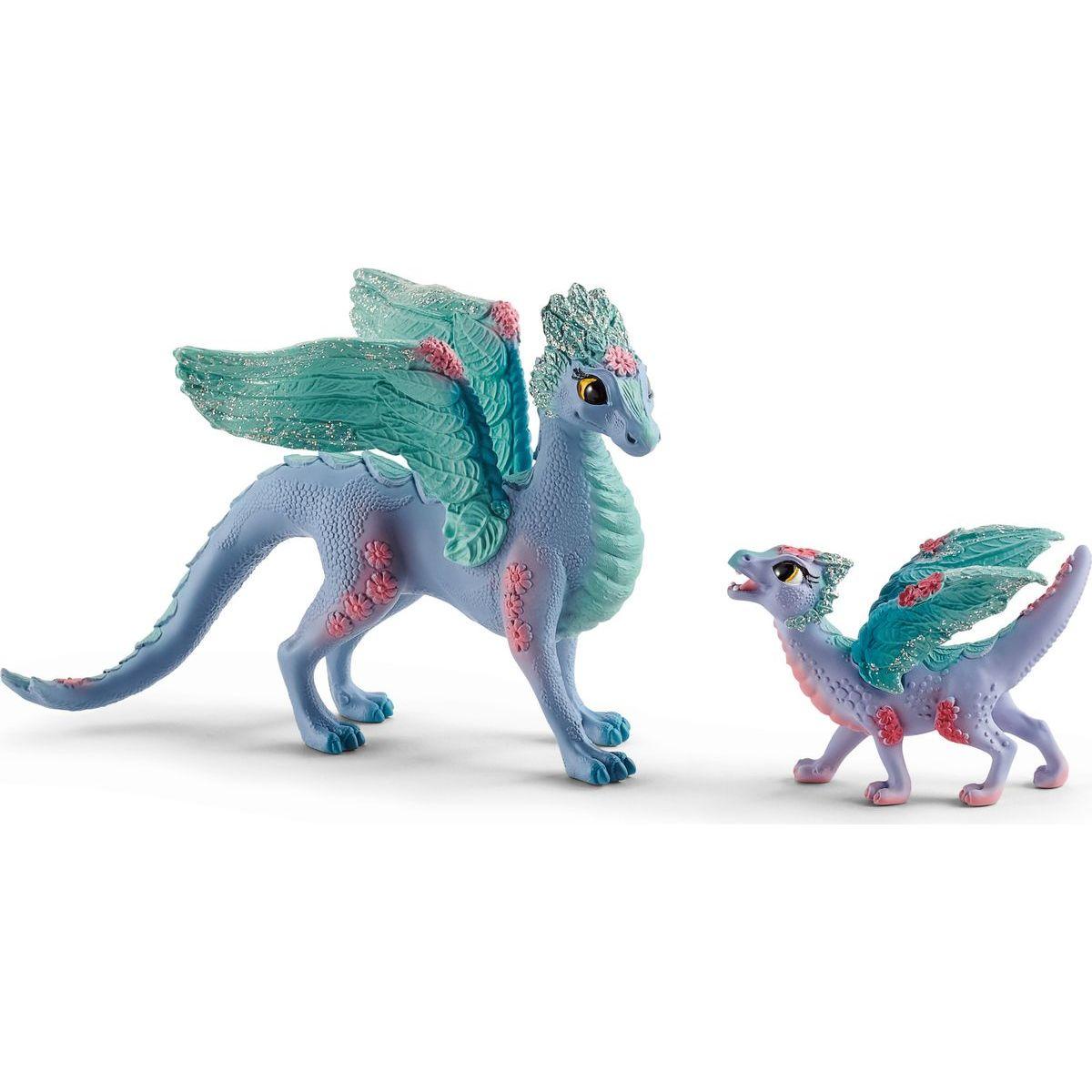 Schleich 70592 Květinový drak s mládětem