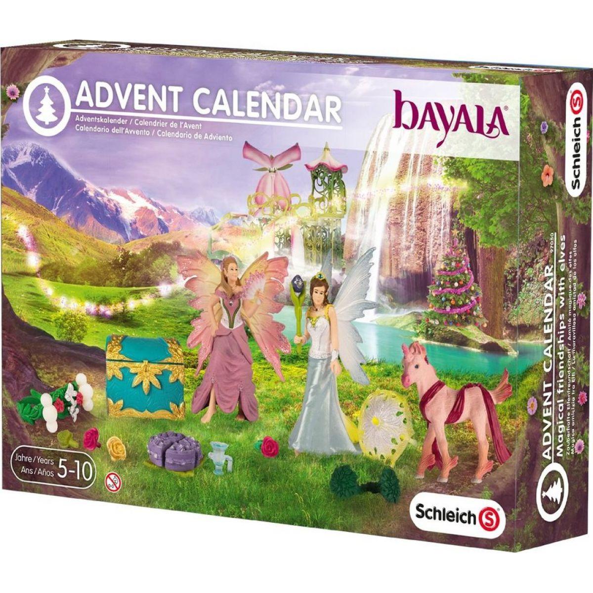 Schleich 97050 Adventní kalendář 2015 Bayala