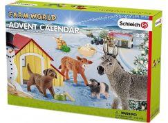 Schleich 97448 Adventní kalendář 2017 Domácí zvířata