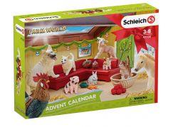 Schleich 97700 Adventní kalendář 2018 - Domácí zvířata