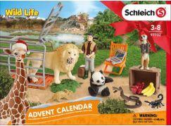 Schleich 97702 Adventní kalendář 2018 - Divoká zvířata