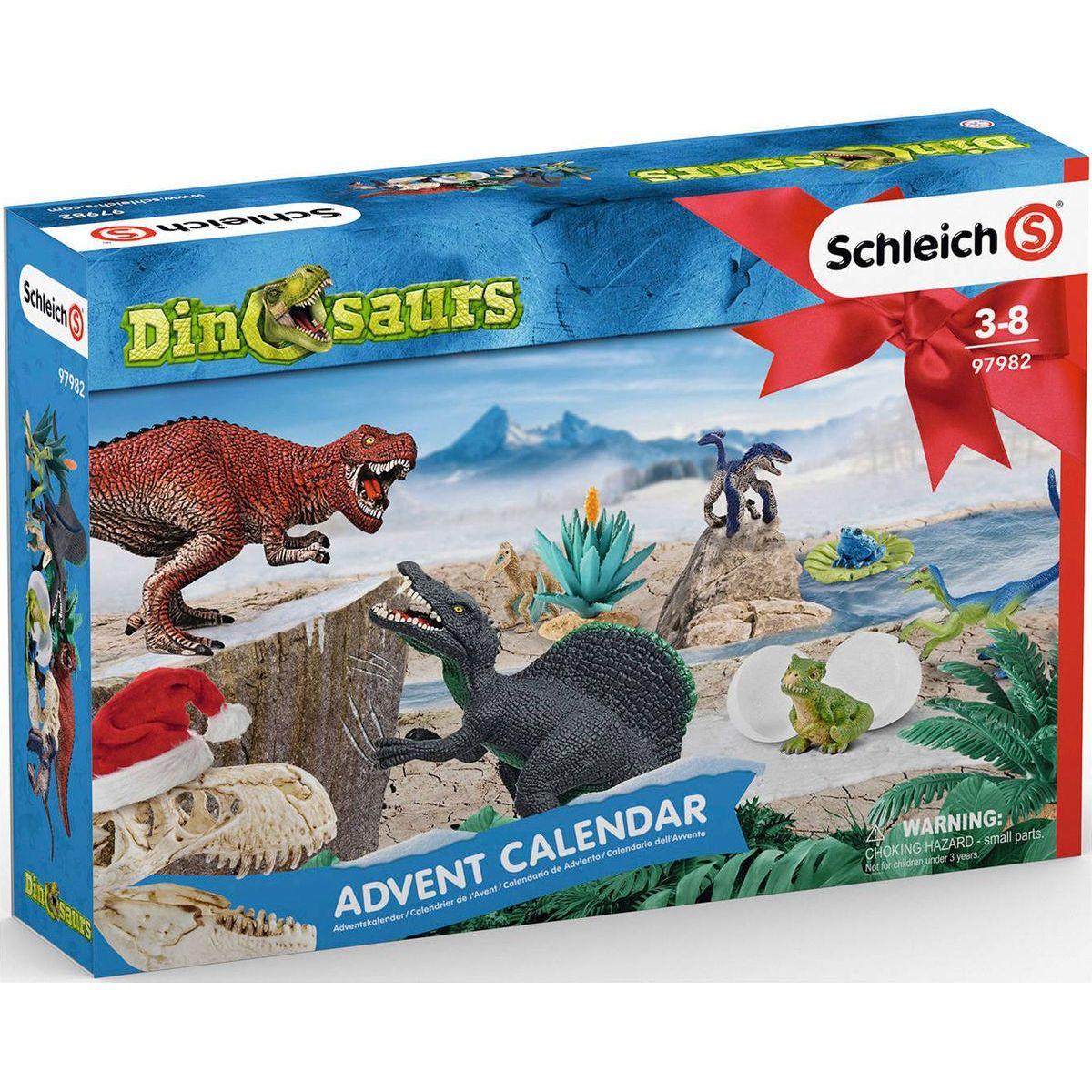 Schleich 97982 Adventní kalendář 2019 - Dinosauři
