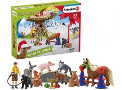 Schleich 98063 Adventní kalendář Schleich 2020 Domácí zvířata