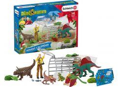 Schleich 98064 Adventní kalendář Schleich 2020 Dinosauři