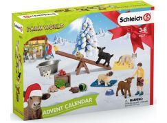 Schleich 98271 Adventní kalendář 2021 Domácí zvířata