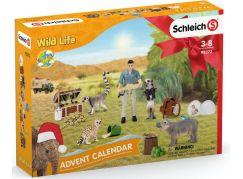 Schleich 98272 Adventní kalendář 2021 Africká zvířata