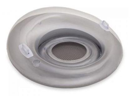 Sedátko kruh Intex 58883 - Stříbrná
