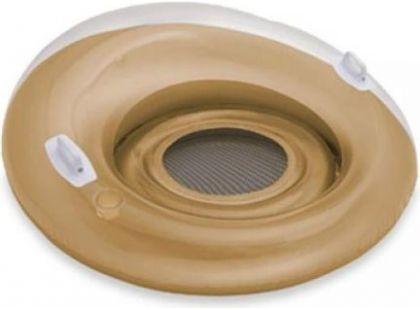 Sedátko kruh Intex 58883 - Zlatá