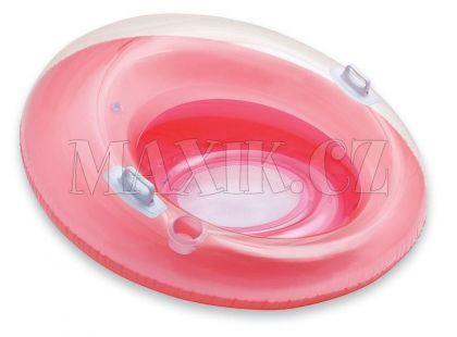 Sedátko kruh Intex 58883 - Růžová