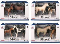 Series Model Svět zvířat sada 1, kůň a hříbě