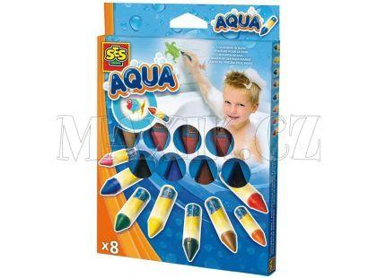 SES Aqua Malování ve vodě Vonící voskovky