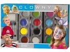 SES Clowny Vodové barvy na obličej 2