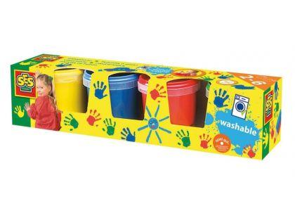Ses Dětské prstové barvy 4x 150ml