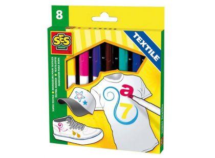 Ses Fixy na textil Maxi 8 barev
