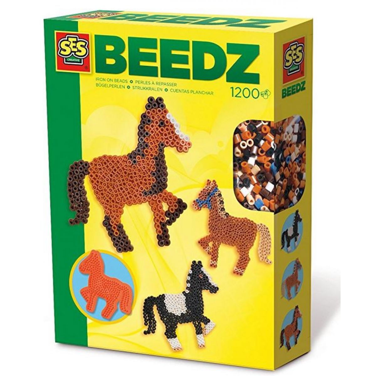 SES Korálky - sada koně