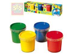 SES Moje první prstové barvy 4 x 150 ml