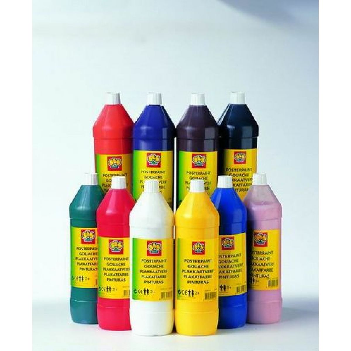 SES Prstové barvy 1L