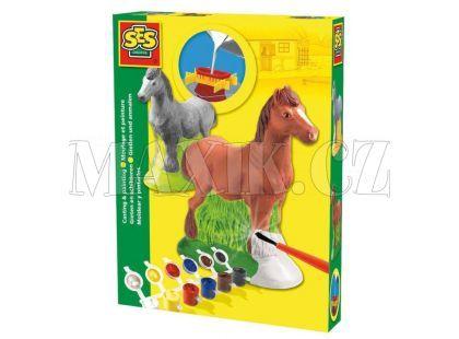 Ses Sádrový komplet Kůň