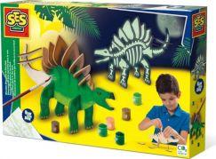SES Výroba svítícího dinosaura