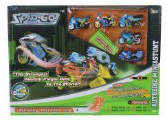 Set 6 motorek Spin Go a doplňků Idoon 60507