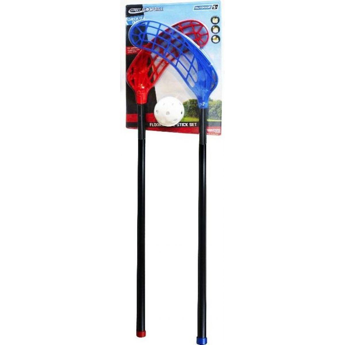 Rappa Set na florbal míček a 2 hole 99 cm