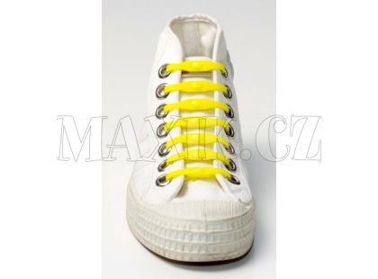 Shoeps Silikonové tkaničky - yellow