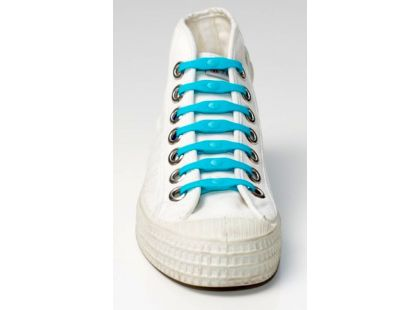 Shoeps Silikonové tkaničky - indigo