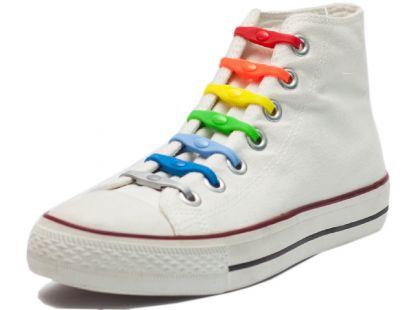 Shoeps Silikonové tkaničky - mix