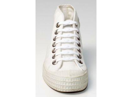 Shoeps Silikonové tkaničky - white