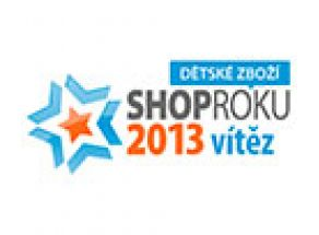 SHOP ROKU 2013 v kategorii Dětské zboží vyhrál MAXIK.CZ