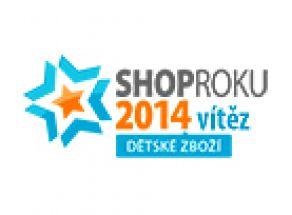 SHOP ROKU 2014 - VÍTĚZ v kategorii dětské zboží