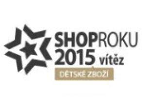 SHOP ROKU 2015 - cena kvality - dětské zboží - vítěz = Maxík.cz
