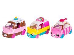 Shopkins Cutie Cars S1 - 3 pack Happy+Choc-Cherry+Rainbow