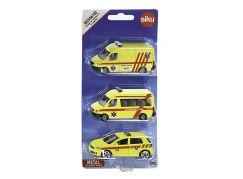 Siku 1043182506100 Ambulance sada 3 aut česká verze