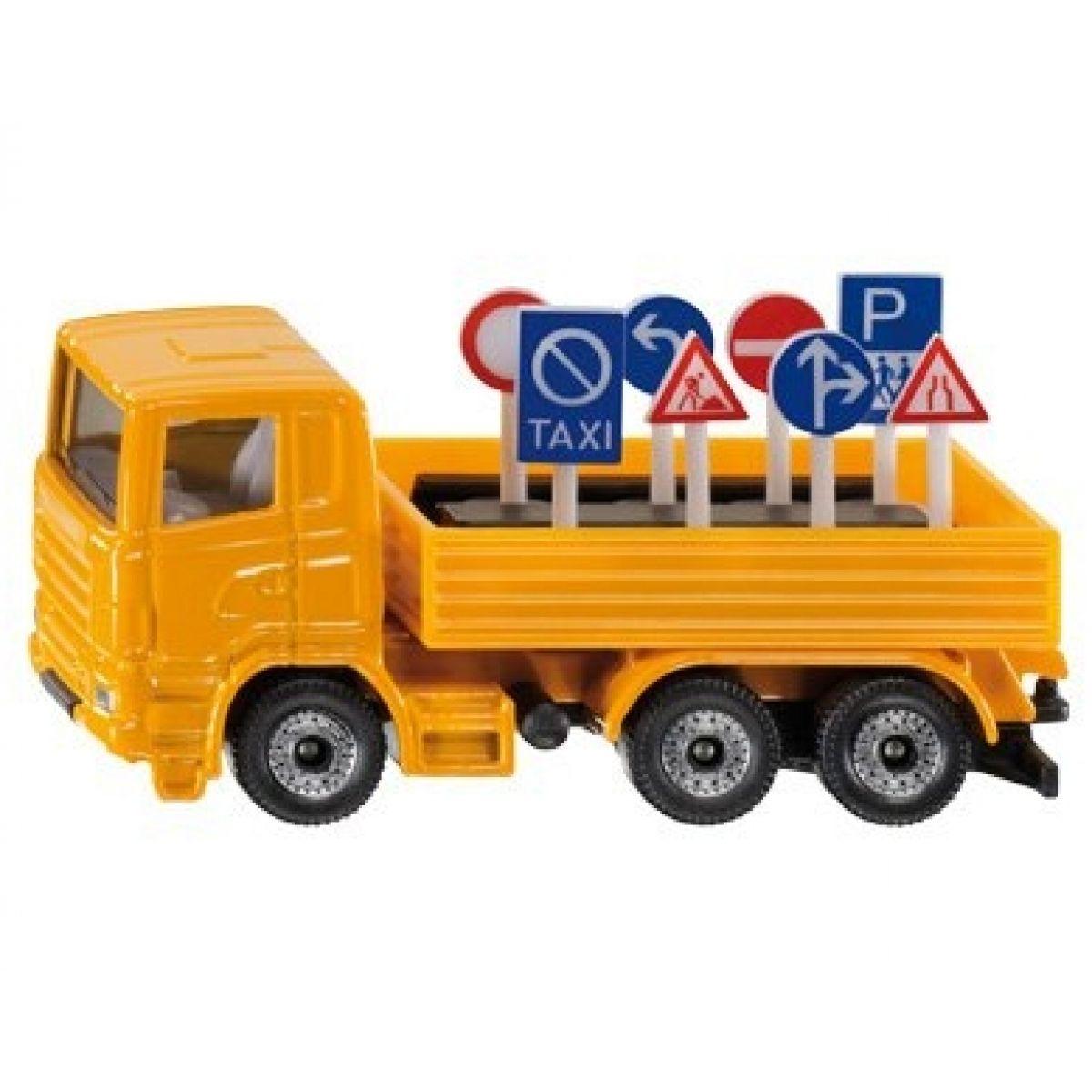 Siku 1322 Nákladní vozidlo s dopravními značkami