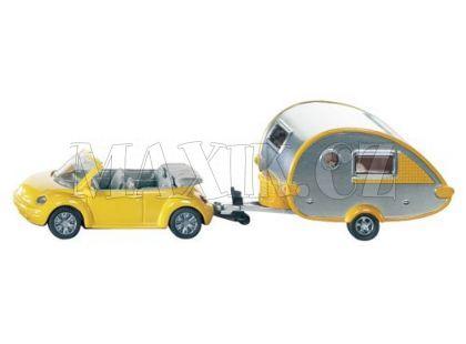 Siku 1629 Auto s obytným přívěsem