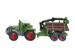 Siku 1645 Traktor s přívěsem na kulatinu