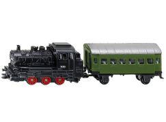 Siku 1657 Parní lokomotiva s osobním vagónem