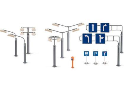 Siku 5594 Dopravní značky a pouliční lampy