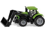 SIKU Blister 1394 traktor Deutz-Fahr s předním nakladačem