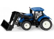 SIKU Blister 1396 traktor New Holland s předním nakladačem