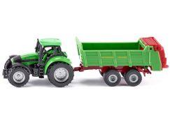 Siku Blister Traktor s univerzální vlečkou