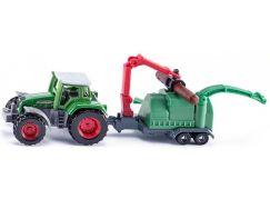 Siku Blister Traktor se štěpkovačem