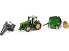 Siku Control limitovaná edice RC traktor John Deere + balíkovačka John Deere 1:32
