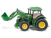 Siku Control Traktor John Deere s předním nakladačem 1:32